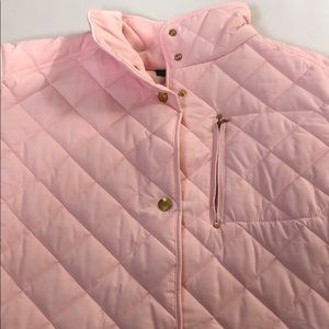 Lauren Ralph Lauren Women's Pink Jacket Coat 3X